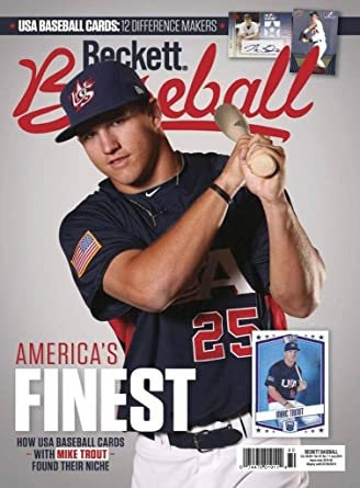 Beckett Baseball Amazoncom Magazines