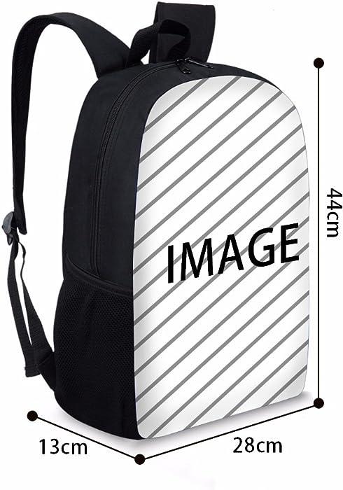 c019d3bfea00 Cute Cat Panda Print Kids School Travel Backpack Shoulder Book Bags