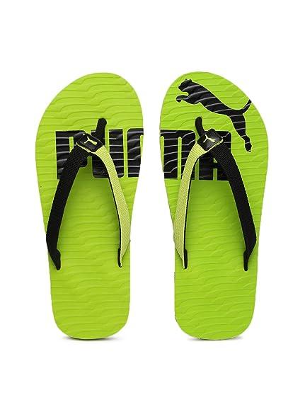 bb3acc1bc24 Puma Unisex Miami Valueline Ii Dp Green Flip Flops Thong Sandals (8UK)