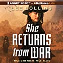 She Returns from War Audiobook by Lee Collins Narrated by Alison Larkin