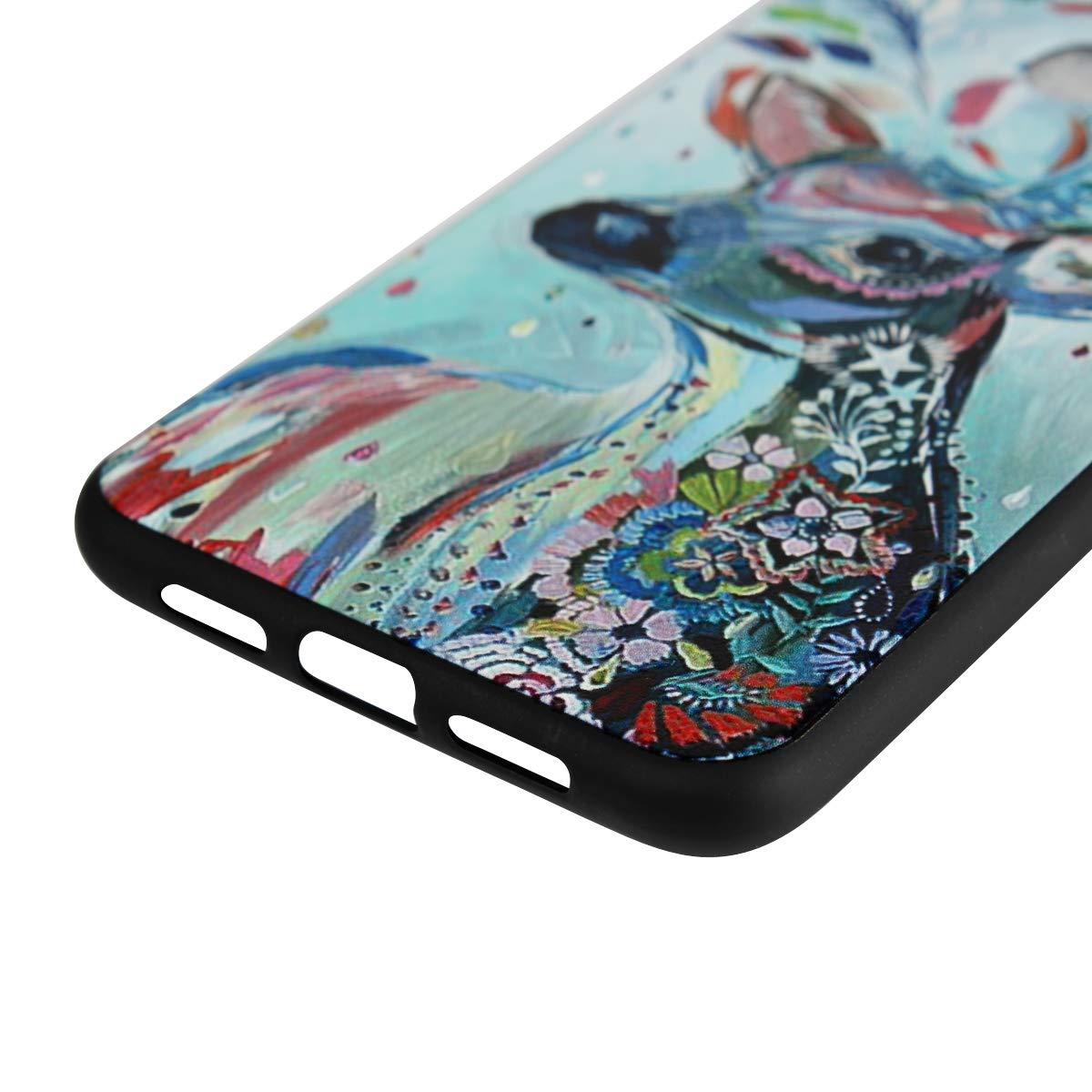 FANFO Xiaomi Mi 8 Lite TPU 3D Funda + 3 Unidades Protector, Cubierta Delgado TPU 3D Funda Protective Case Cover/Cristal Templado para: Amazon.es: ...
