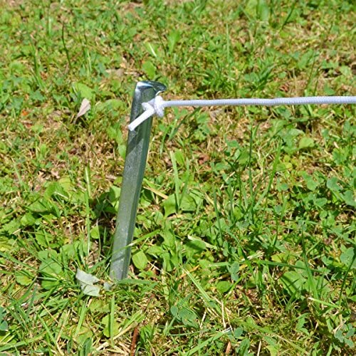 AMANKA 10 XL Stahl Zelt Heringe V Profil 230x23mm stabile