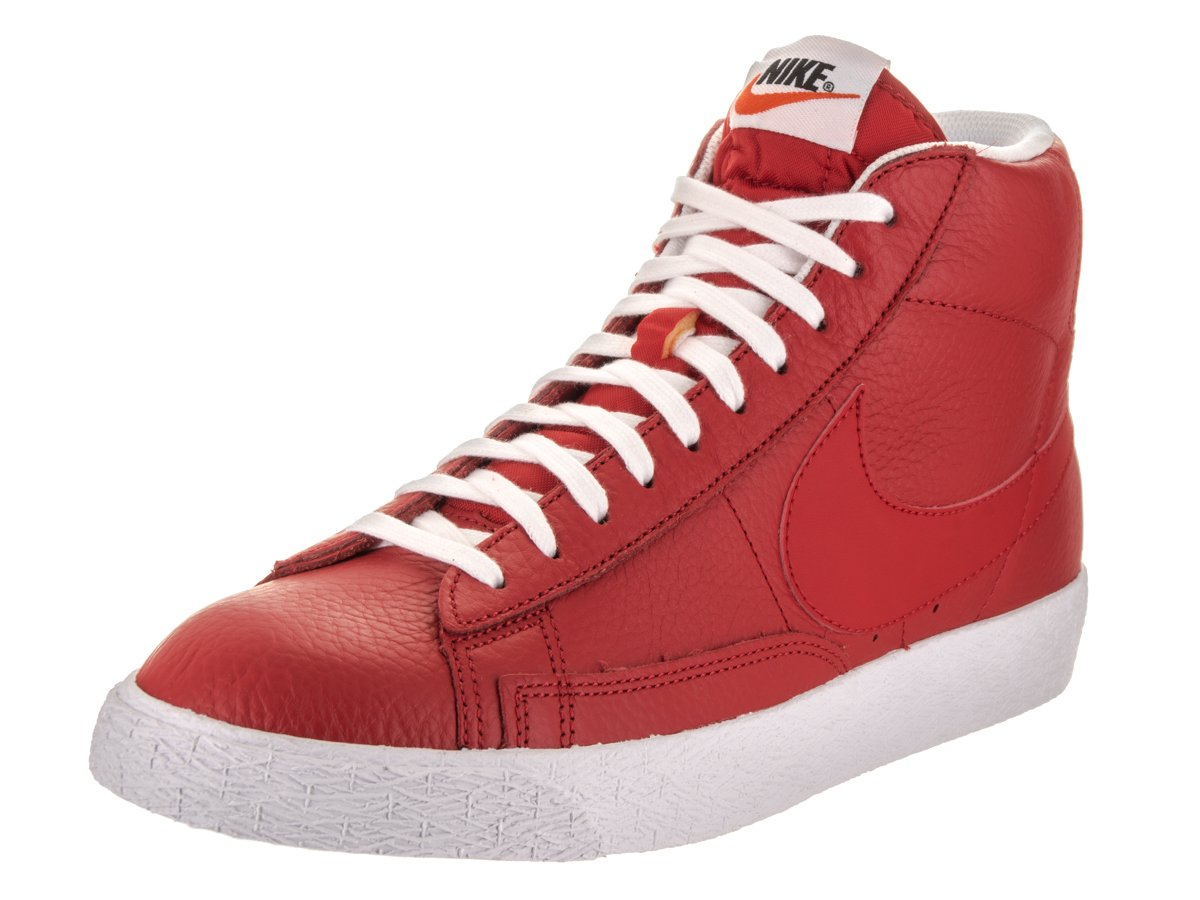 NIKE Men's Blazer Mid PRM Casual Shoe B01N9T57WK 9.5 D(M) US|Red/White/Black