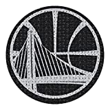 warrior car emblem - NBA Golden State Warriors Bling Emblem, 6.25