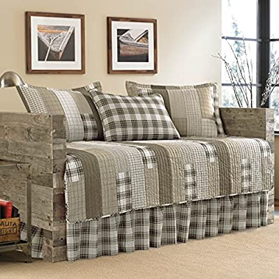 Eddie Bauer 5 Piece Fairview Quilted Daybed Set, Sand