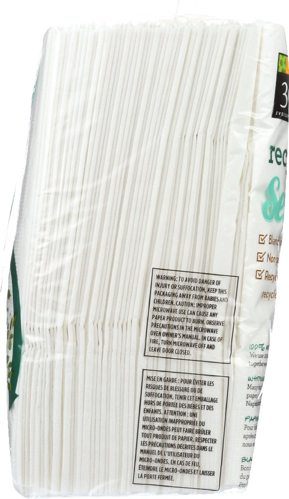 365 Everyday Value, 100% Recycled Dinner Napkin, 100 ct