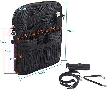 WANGXN Nurse Pro Pack Pocket Pouch Nurse Organizer Cinturón Riñonera Bolsa Estuche para Tijeras médicas Care Kit Tool: Amazon.es: Deportes y aire libre
