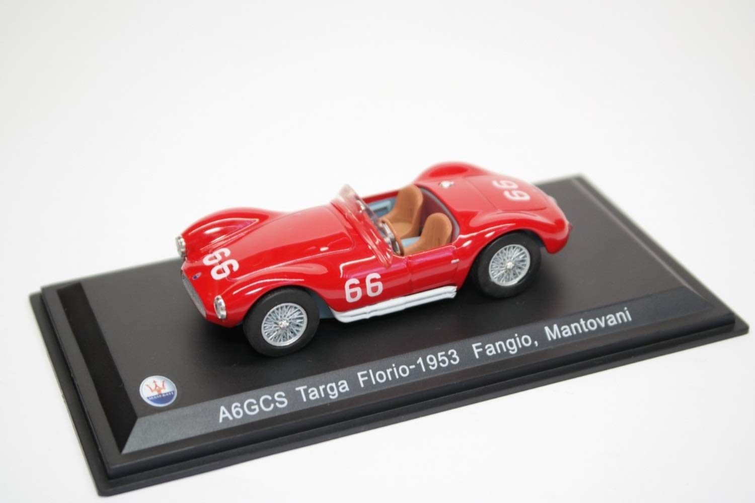 Amazon.com: Maserati A6GCS/53#66 Officine Alfieri Maserati ...