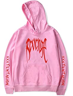 06dd88174a2 Unisex Revenge Hoodie Rap Cool Graphic Pullover Hooded Sweatshirt Top