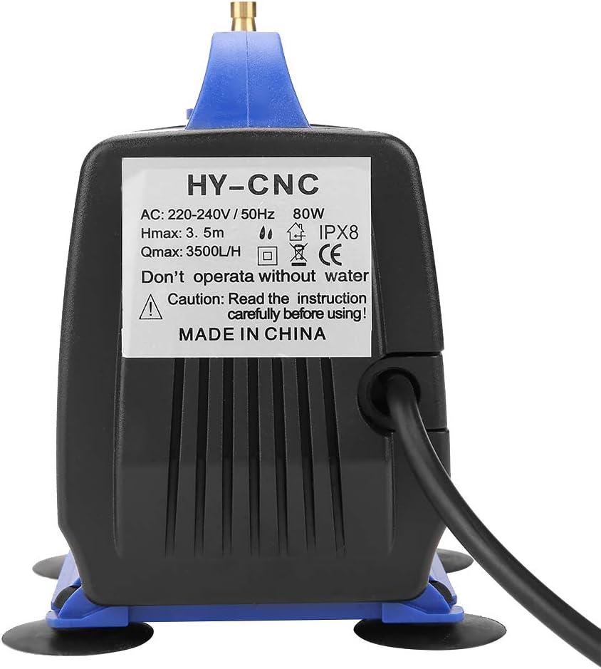 80W 3.5m Engraving Machine Submersible Pump for CNC Spindle Motor CN Plug 220V CNC Water Pump Submersible Pump