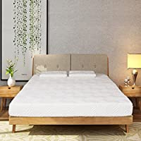 Bonnlo 8-Inch Gel Memory Foam Mattress- Three Layered Cloud-like Sleep Mattress with Bonus 2 Pillows Sleep Supportive Breathable Scientifically Engineered for You Best Sleep Comfort, Queen