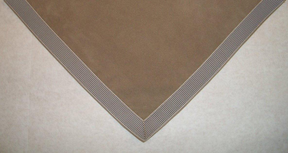 Sanders Classics 44'' Taupe Card (Bridge) Table Cover