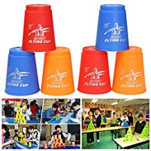 Frontier 12Pcs Quick Speed Stacker Cups Fast Stacking Stacks Competition Sport Game Toy