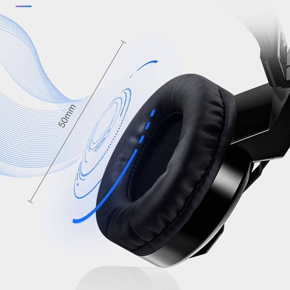 Profession Gaming Headphone LEFJDNGB USB Headset Headset Stereo Wired Game Headset with Noise Reduction Mic