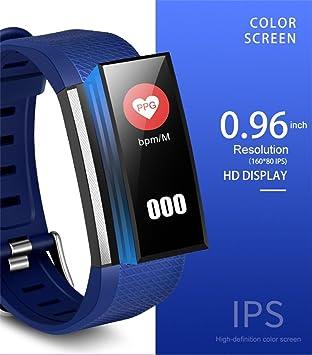 Reloj inteligente Diadia M200 de 0,96 pulgadas, pulsera inteligente de seguimiento de fitness