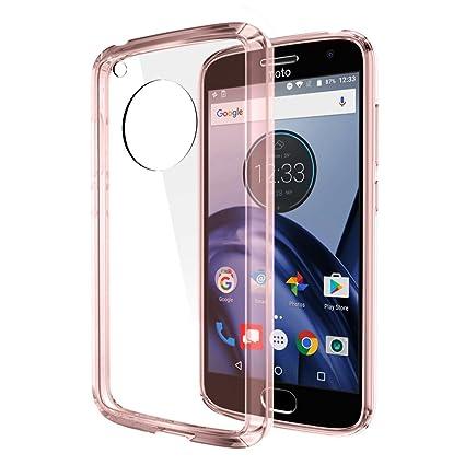 Amazon.com: Motorola Moto G5 Plus Caso, dreamwireless Fusion ...