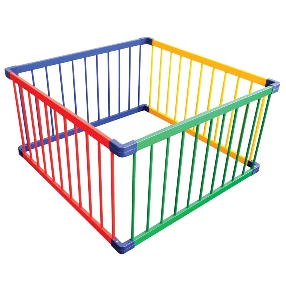 お気にいる ベビーサークル, 子供/子供のための4パネル式木製プレイヤード、携帯用ベビーゲーム 簡単な組み立て、レインボーカラー B07PHFXF6S B07PHFXF6S, Boutique de Bonheur:ba7f0dae --- a0267596.xsph.ru