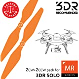 Master Airscrew MAS Propellers for 3DR Solo in Orange - x4 in Set
