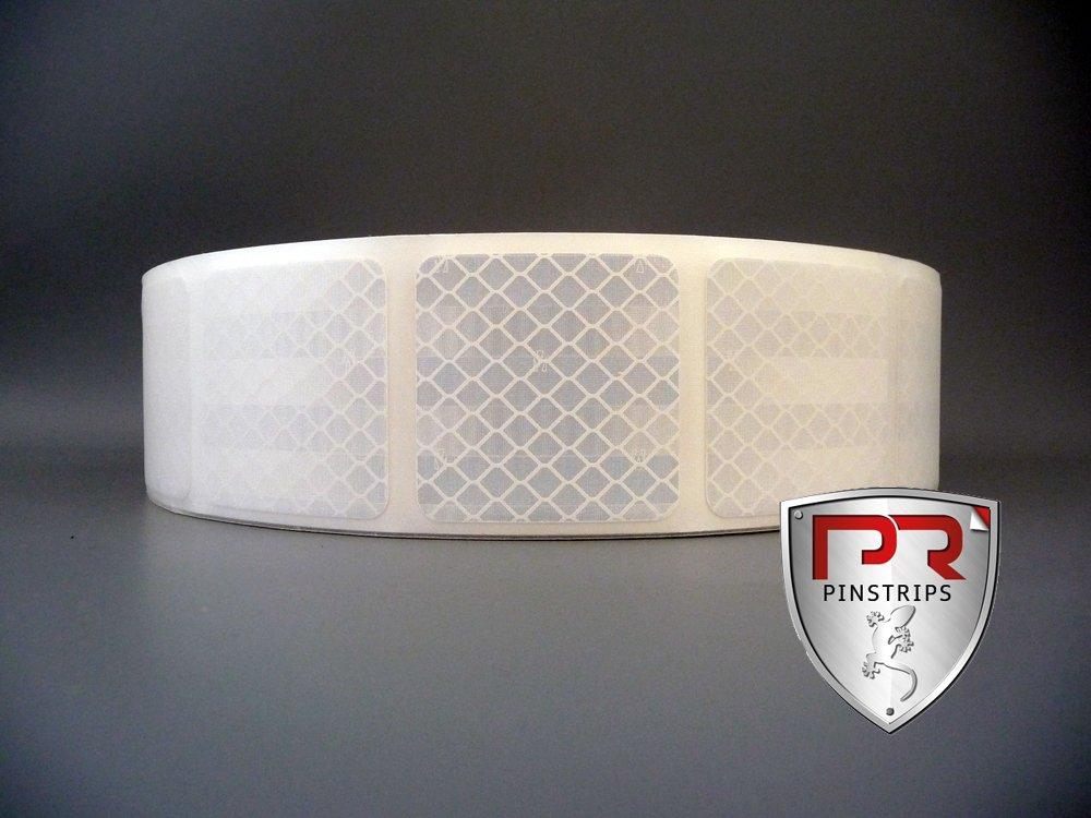 3M Diamond Grade Konturmarkierung wei/ß Flexible retroreflektierende Markierung f/ür elastische Untergr/ünde// Sekment 5,2x5,0cm