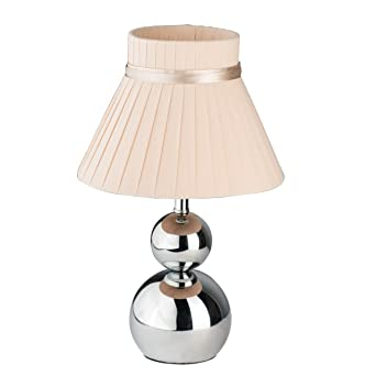 Mw Light 610030201 Lampe De Table Style Moderne En Metal Couleur