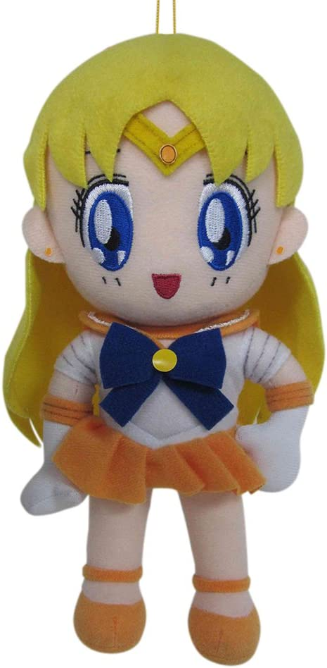"Great Eastern GE-7509 Sailor Moon 8"" Plush Doll, Sailor Venus"