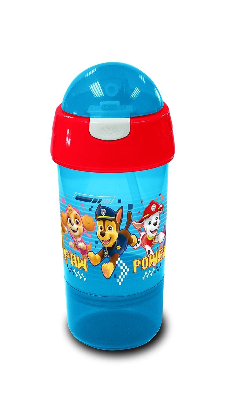 Paw Patrol - Botella para Beber y Aperitivos, Color Rojo y Azul, 8 ...