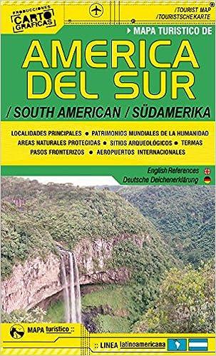 America Del Sur Mapa Turistico Carretero: Amazon.de: Bücher