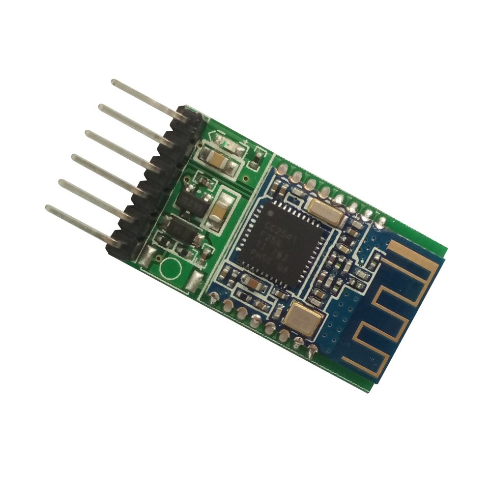 DSD TECH HM-11 Bluetooth 4.0 BLE Module with 6 PIN Board Compatible with iOS Devices for Arduino