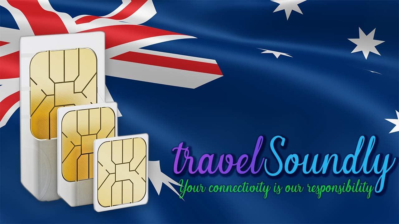 Tarjeta SIM prepago para Australia Zelanda con 12 GB para 30 días ...