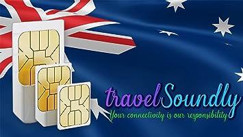 Tarjeta SIM prepago para Australia Zelanda con 12 GB para ...