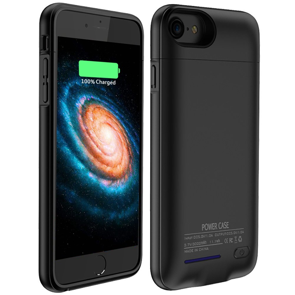 Battery Case iPhone 7 Plus Backup High Capacity 4200mAh External Charging Case iPhone 6s Plus Magnetic Portable Charger Case iPhone 6 Plus Slim Case iPhone Plus 5.5inch