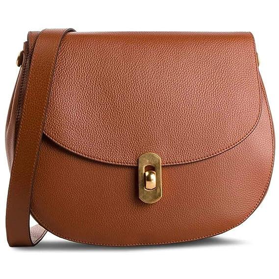 fe75b96e80677 Coccinelle Tasche Zaniah Crossbody-Tasche Leder Brule - E1DG0120101W74