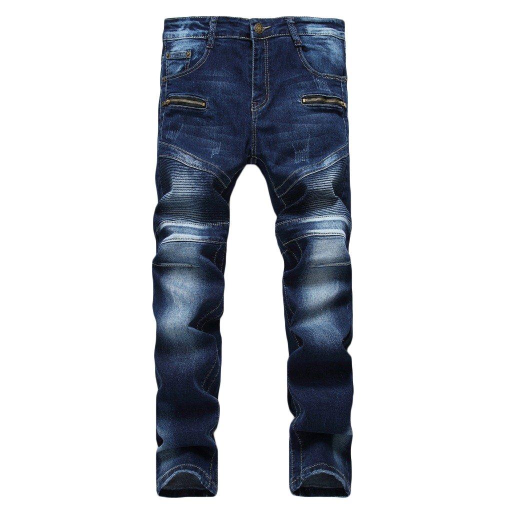 MAGE MALE PANTS メンズ B0772GDSG2 34 W ダークブルー ダークブルー 34 W