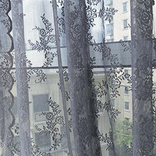 Edal Window Curtain Floral Valances