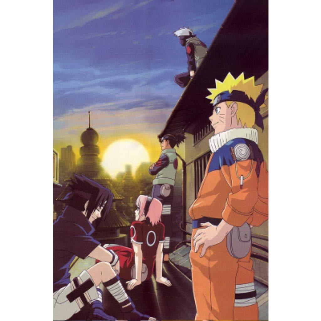 Jigsaw Puzzles-HU Holzpuzzle, Naruto Classic Japanese Comic, Perfect Cut & Fit, 300 500 1000 1500 Stück Boxed Fotografie Spielzeug Spielkunst für Erwachsene & Kinder (Farbe   G, größe   1500pc) B07PK85PYH Klassische Puzzles Genialität