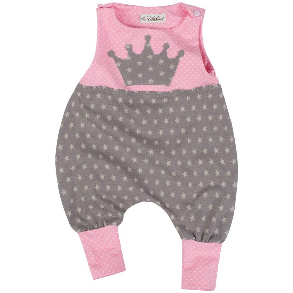 Lilakind Pelele - Estrellas - Sin Mangas - para bebé niña: Amazon.es: Ropa y accesorios
