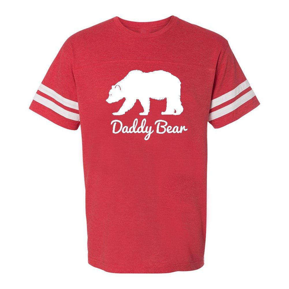 Mashed Clothing Daddy Bear Adult Football T-Shirt