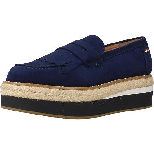 Mocasines para Mujer, Color Azul, Marca MTNG, Modelo Mocasines para Mujer MTNG 51633M Azul: Amazon.es: Zapatos y complementos