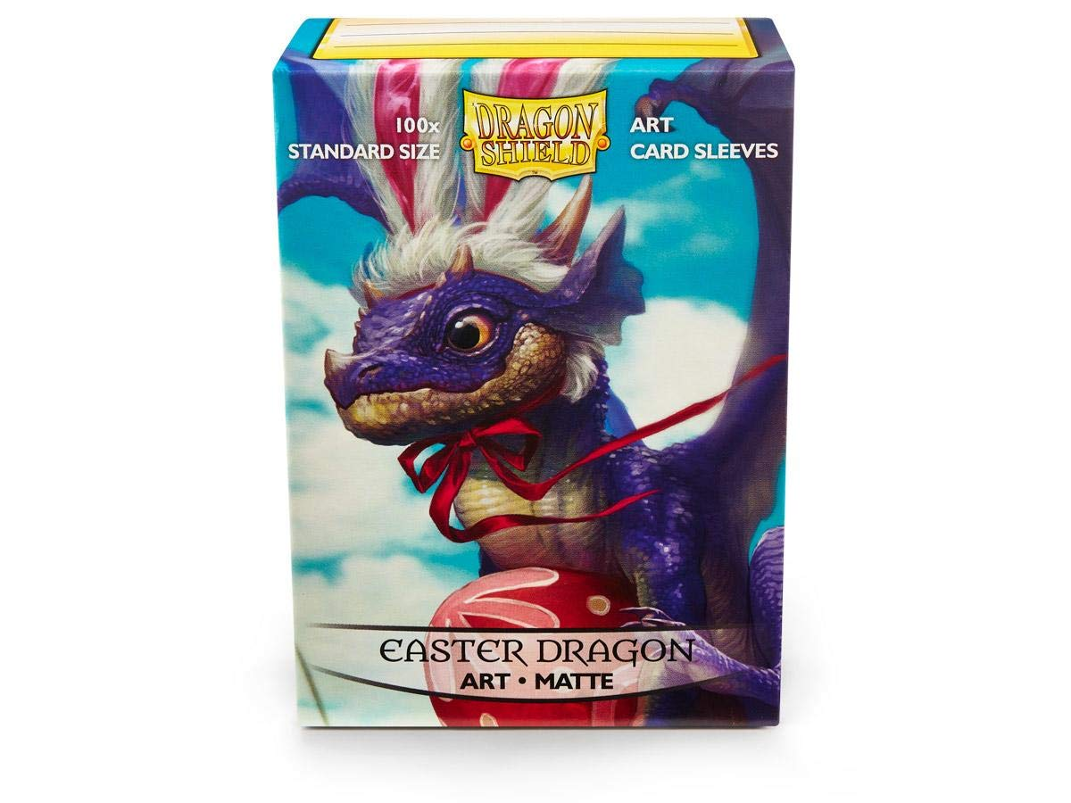 Dragon Shield Matte Art Easter Dragon Standard Size 100 ct Card Sleeves Individual Pack