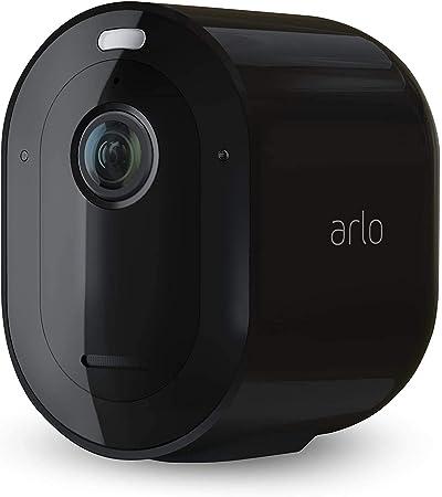 Arlo Pro3 2K - Cámara Adicional Smart (Recargable, Libre de Cables con visión Diurna/Nocturna, Funciona con Amazon Alexa), Necesita Smarthub, VMC4040B