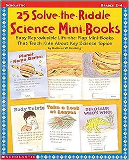 Amazon com: 25 Solve-the-Riddle Science Mini-Books (Grades 2