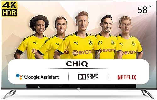 CHiQ-Smart-TV-58-Zoll-Fernseher-Smart-LED-TV
