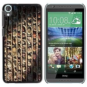 Be Good Phone Accessory // Dura Cáscara cubierta Protectora Caso Carcasa Funda de Protección para HTC Desire 820 // Architecture Vertical Pattern