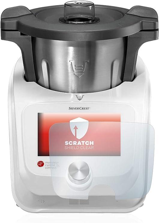 upscreen Protector Pantalla Compatible con SilverCrest Monsieur Cuisine Connect Película Protectora – Transparente, Anti-Huellas: Amazon.es: Electrónica