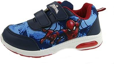 Garçons Spiderman Léger Baskets Enfants Marvel Avengers Running Chaussures De Sport