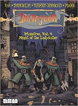 Book Dungeon: Monstres – Vol. 4: Night of the Ladykiller