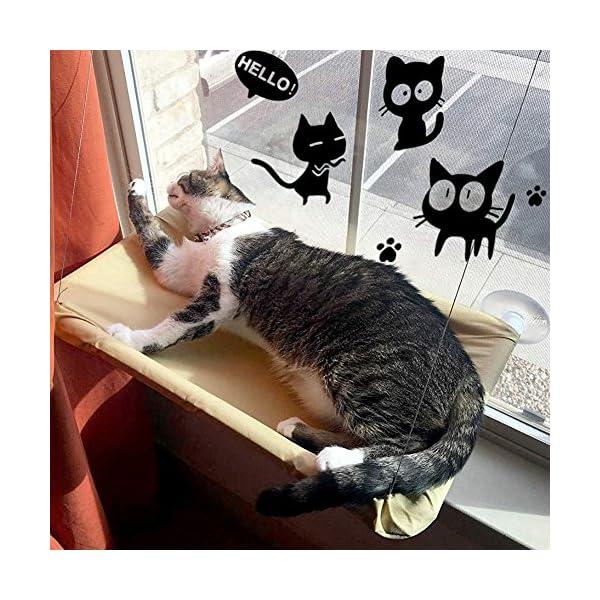 KADUNDI-Hamaca-para-Ventana-de-Gato-o-Perca-cmoda-Cama-para-Dormir-con-Gato-Grande-de-hasta-15-kg