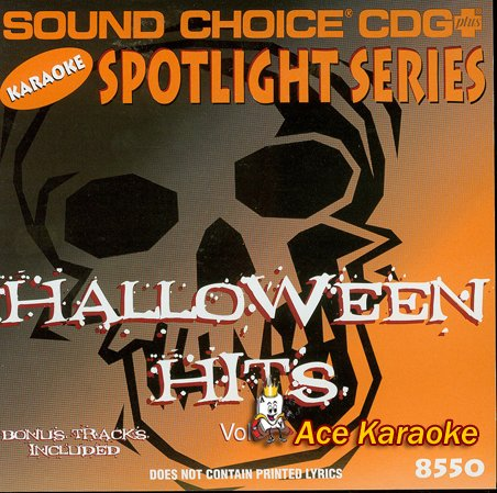 Sound Choice Spotlight CDG SCG8550 - Halloween Hits ()