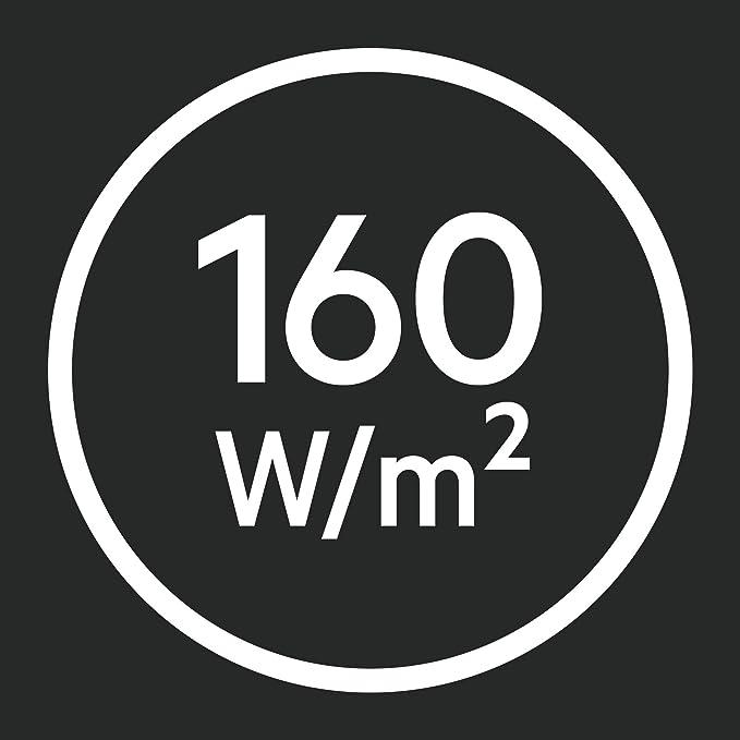 Verlegfl/äche: 3 m/² Breite: 50cm Heizleistung: 160 W//m/² Basis-Heizmatten-Set TBS TB 50 Set 160//3,5T AEG THERMO BODEN 234281