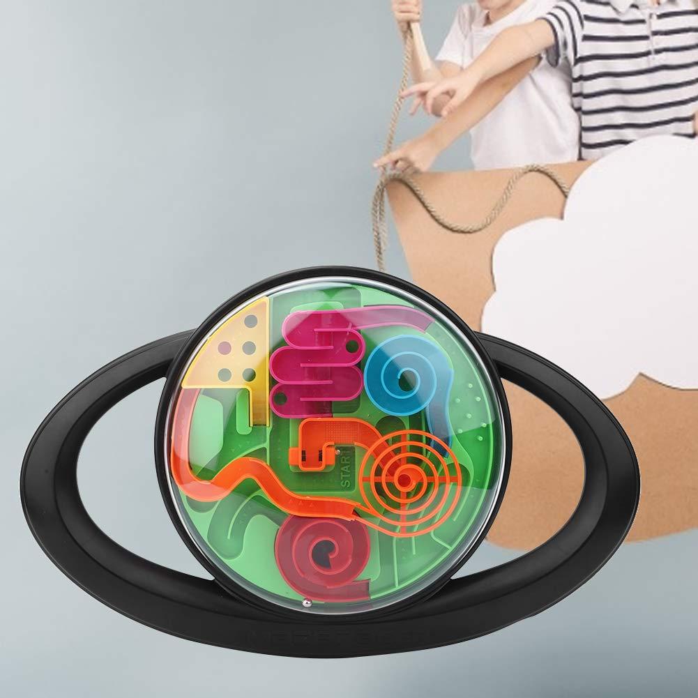 Volante 965-Ingl/és Tnfeeon Juguete desafiante para Enigmas Bola de Laberinto esf/érico 3D de Inteligencia Infantil con obst/áculos m/últiples Competencia de Carreras para ni/ños